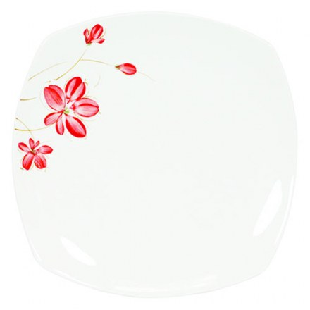 Hand Painting Ceramic SQ. Dish (M)