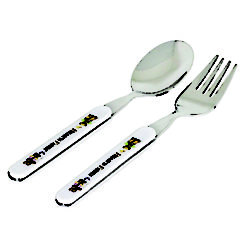 Kidoo Bear Spoon Fork 2P