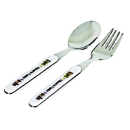 Kidoo Bear Spoon Fork 2P