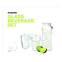 Glasslock Beverage 5P set