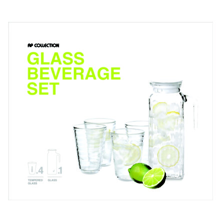 Glasslock Beverage 5P set