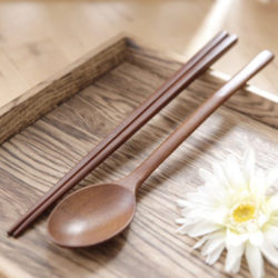 ACACIA Lacquered Wood Spoon Set