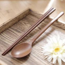 ACACIA Lacquered Wood Spoon Set