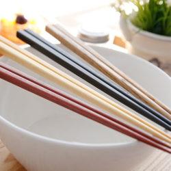 ACACIA Wood Chopsticks 4Pair set