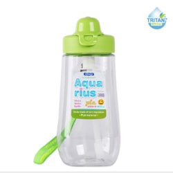 Aquaris Straw Water bottle 380ml -G