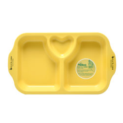 ECO 3 Divide Snack Plate
