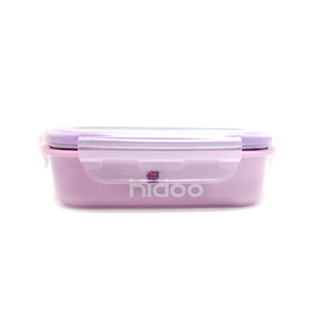 Kidoo Stainless Rec. Container 320ml(Yellow Green or Purple)