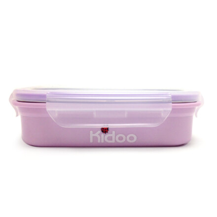 Kidoo Stainless Rec. Container 560ml(Yellow Green or Purple)