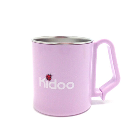 Kidoo Stainless Cup 270ml(Yellow Green or Purple)