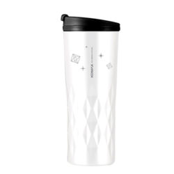 Crystal white tumbler 400ml