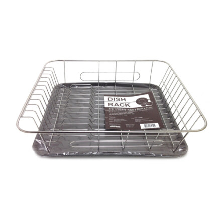ST. Steel Dish Rack w/Tray