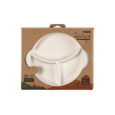 Komax ECO Snack Plate 3 Div.