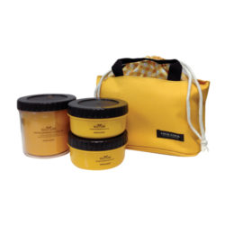 L&L Lunch Bag 3P Set_Yellow 450ml