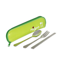 Kidoo Spoon Set 3P with Case
