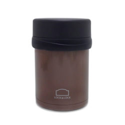 L&L Vacuum Food Jar_Brown