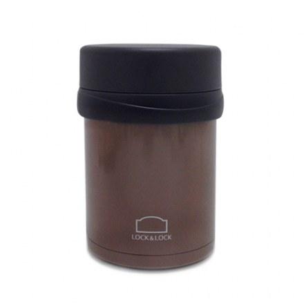 L&L Vacuum Food Jar_Brown