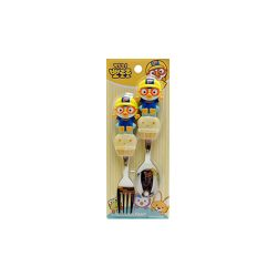 Pororo 3D Spoon Frok 2P Set