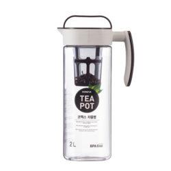 Komax Handle Tea Pot w/Strainer 2.0L
