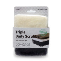 Triple Daily Scrubber 2P